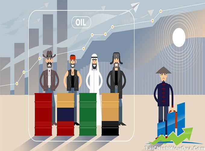 Đầu tư dầu thô - cuộc chiến của các quốc gia mạnh nhất